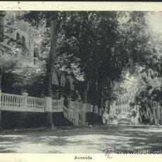 Postales: LANJARON (GRANADA).- AVENIDA. Lote 34733115