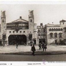 Postales: JEREZ DE LA FRONTERA, TEATRO VILLAMARTA, EDIT.GINER. Lote 34863604