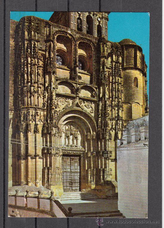 2.009.- ARCOS DE LA FRONTERA. PARROQUIA DE SANTA MARÍA. FACHADA PRINCIPAL (Postales - España - Andalucia Moderna (desde 1.940))