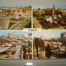 Postales: ANTIGUA TARJETA POSTAL DE CÁDIZ . AÑO 1960-70S. Lote 34923933