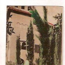 Postales: ANTIGUA POSTAL GRANADA ALHAMBRA ABELARDO LINARES. Lote 34935506