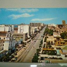 Postales: ANTIGUA TARJETA POSTAL DE CÁDIZ AVENIDA LOPEZ PINTO Nº 9513 . AÑO 1960-70S. Lote 34975646
