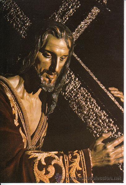 POSTAL SEMANA SANTA MALAGA. NAZARENO DEL PASO ESPERANZA SALCEDO 1977 (Postales - España - Andalucia Moderna (desde 1.940))