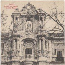 Postales: SEVILLA.- PORTADA DEL PALACIO DE SAN TELMO.. Lote 34999881