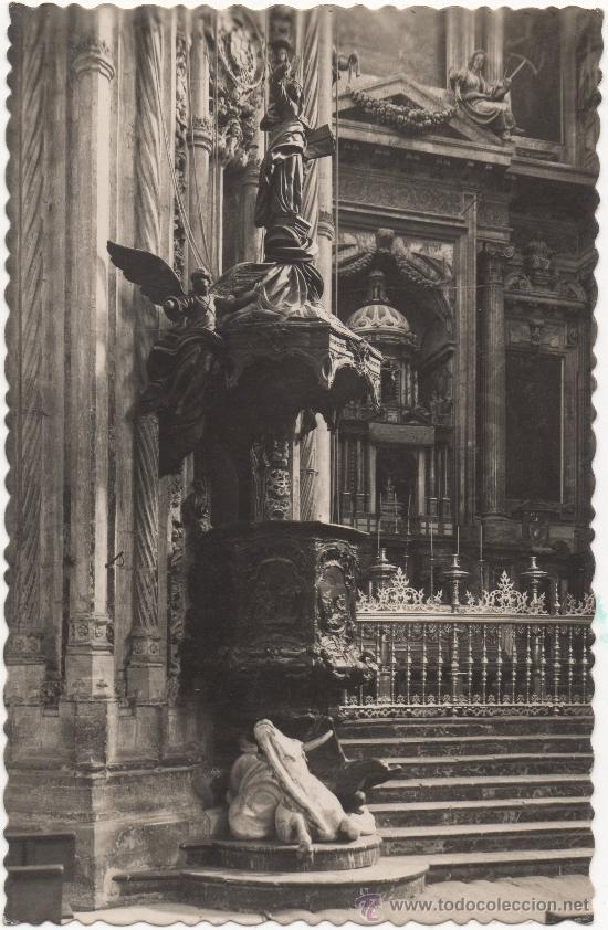 CÓRDOBA.- MEZQUITA-CATEDRAL. PÚLPITO (CHURRIGUERESCO). (Postales - España - Andalucia Moderna (desde 1.940))