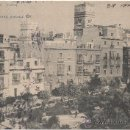Postales: CÁDIZ.- PLAZA DE GUERRA JIMÉNEZ. (C.1905).. Lote 35187207