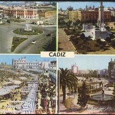 Postales: CADIZ.- VARIAS VISTAS. Lote 35210119