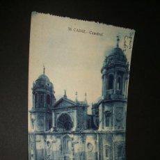 Postales: CADIZ CATEDRAL. Lote 35213661