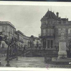 Postales: ARACENA (HUELVA).-PLAZA DEL MARQUES DE ARACENA. Lote 35241203