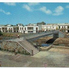 Postales: CHICLANA DE LA FRONTERA. PASARELA SOBRE EL RÍO IRO.. Lote 35313591