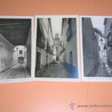 Postales: 3 POSTALES DE SEVILLA. AÑOS 1940. FOT. L. ROISIN. 1045. Lote 35388971