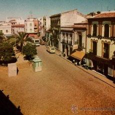 Postales: POSTAL ALCALA DE GUADAÍRA - PLAZA FALANGE ESPAÑOLA - FOTOCOLOR VALMAN BARCELONA MOTRIL. Lote 35572693