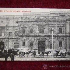 Postales: POSTAL SEVILLA. FACHADA ANTIGUA DEL AYUNTAMIENTO. FOT. THOMAS. . Lote 35619838
