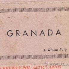 Postales: TIRA DE 15 FOTOGRAFIAS L ROISIN , GRANADA , 11 X 6 CM , DESPLEGABLE. Lote 35637897