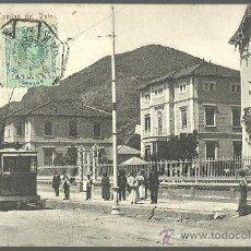 Postales: TARJETA POSTAL DE MALAGA - CAMINO DEL PALO. Lote 35641655