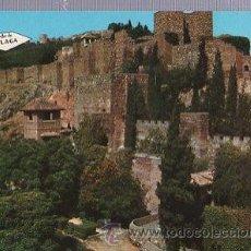 Postales: TARJETA POSTAL MÁLAGA, LA ALCAZABA. Lote 35668886