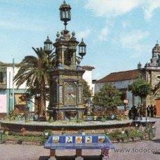 Postales: CADIZ - ALGECIRAS - PLAZA DEL GENERALISIMO. Lote 35917153