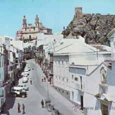 Postales: CADIZ - OLVERA - CALLE GENERAL FRANCO. Lote 35917794