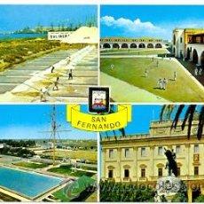 Postales: 7-ESP1756. POSTAL CADIZ. SAN FERNANDO. VARIAS VISTAS. Lote 36154103