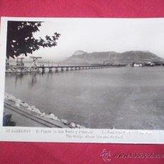Postales: ALGECIRAS - EL PUENTE, LA ISLA VERDE Y GIBRALTAR CADIZ. Lote 36281104