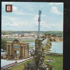 Postales: TARJETA POSTAL CORDOBA - TRIUNFO Y PUENTE ROMANO. Nº 905. SUBIRATS CASANOVAS. Lote 36250402