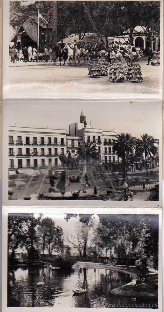 Postales: JÉREZ DE LA FRONTERA - ACORDEÓN DE 10 POSTALES - ED. PAPELERA JEREZANA - Foto 2 - 36363423