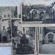 Postales: CARPETA CON 9 POSTALES DE SEVILLA ARTÍSTICA DE HUECOGRABADO MUMBRÚ. Lote 36429529