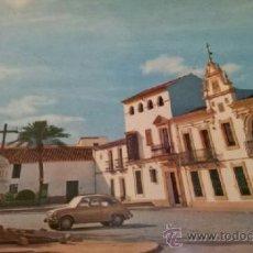 Postales: POSTAL DOS HERMANAS SEVILLA - AYUNTAMIENTO Y CRUZ CAÍDOS - PAPELERIA SANTA MARINA. Lote 36720433