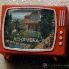 Postales: TOMAVISTAS TOMA VISTAS TELEVISIÓN DE JUGUETE CON FOTOS DE LA ALHAMBRA-II POSTALES AÑOS 60-70. Lote 36752950