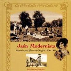 Postales: JAÉN MODERNISTA. POSTALES EN BLANCO Y NEGRO 1900-1910. Lote 36804877