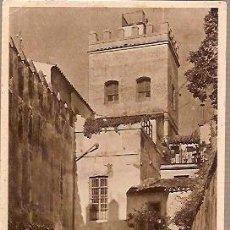 Postales: ANTIGUA POSTAL 22 SEVILLA CALLEJON DE LA JUDERIA HUECOGRABADO MUMBRU. Lote 36876733