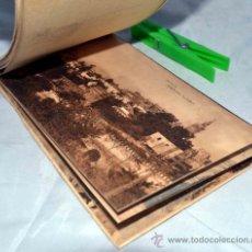 Postales: LOTE, ALBUM, COLECCION 20 POSTALES, ALCAZAR Y CASA DE PILATOS, SEVILLA..AÑO 1900... Lote 36877752