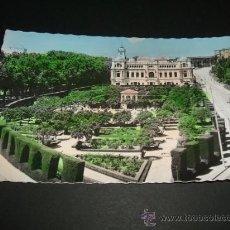 Postales: MALAGA JARDINES DE PUERTA OSCURA Y AYUNTAMIENTO. Lote 36927949