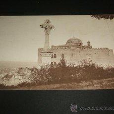Postales: GRANADA CRUZ DE LOS MARTIRES Y HOTEL ALHAMBRA PALACE. Lote 37005218
