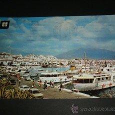 Postales: MARBELLA MALAGA PUERTO BANUS. Lote 37016468