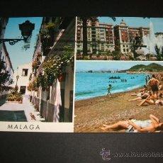 Postales: MALAGA BELLEZAS DE LA CIUDAD. Lote 37016740
