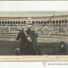 Postales: CORRIDA DE TOROS, SUERTE DE VARA. STENGEL & CO SEVILLA. Lote 37102811