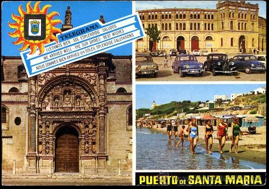PUERTO DE SANTA MARIA (CADIZ).- IGLESIA MAYOR PRIORAL... (Postales - España - Andalucia Moderna (desde 1.940))