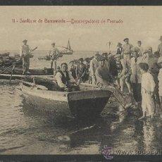 Postales: SANLUCAR DE BARRAMEDA - 11 - DESCARGADORES DE PESCADO -EDICION LA X 4 -(15.788). Lote 37272270
