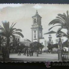 Postales: 16. POSTAL MODERNA ALGECIRAS CADIZ PLAZA DEL GENERALISIMO . Lote 37308416