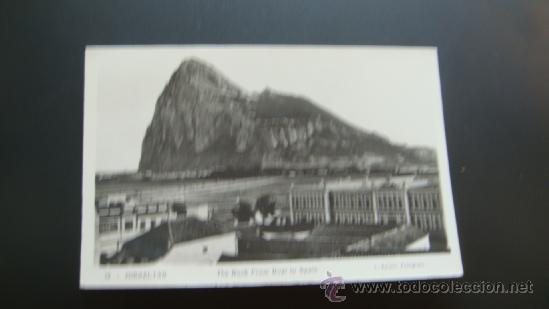 16. POSTAL MODERNA GIBRALTAR LA LINEA CADIZ (Postales - España - Andalucia Moderna (desde 1.940))