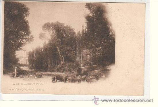 GRANADA.- EL RIO DE JAYENA (Postales - España - Andalucía Antigua (hasta 1939))