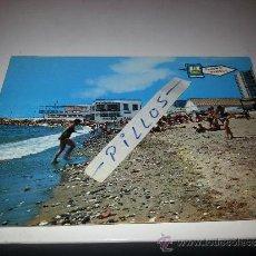Postales: MARBELLA (POSTAL ANTIGUA) CLUB MARITIMO Y PLAYA. Lote 37416871