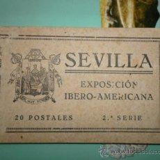 Postales: SEVILLA EXPOSICIÓN IBERO-AMERICANA 20 POSTALES 2ª SERIE. Lote 37457395