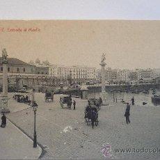 Postales: IMAGEN DE CÁDIZ. ENTRADA AL MUELLE. PRINCIPIOS SIGLO XX. SIN CIRCULAR. LA DE LA FOTO. Lote 37466764