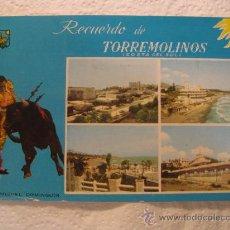 Postales: TORREMOLINOS-MÁLAGA (ANDALUCÍA), CIRCULADA, T6909. Lote 37523441