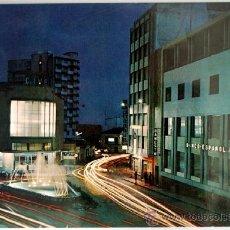 Postales: GRANADA. MOTRIL. CALLE HERNANDEZ DE VELASCO. NOCTURNA.. Lote 37563270
