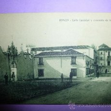 Postales: RONDA CALLE CASTELAR Y CONVENTO DE LA MERCED.. Lote 37482164