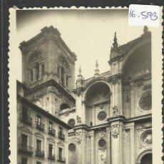 Postales: GRANADA - 647 - CATEDRAL - ROISIN FOTO - (16593). Lote 37802431
