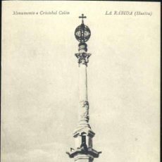 Postkarten - LA RÁBIDA (HUELVA)-. MONUMENTO A CRISTOBAL COLÓN - 37826418